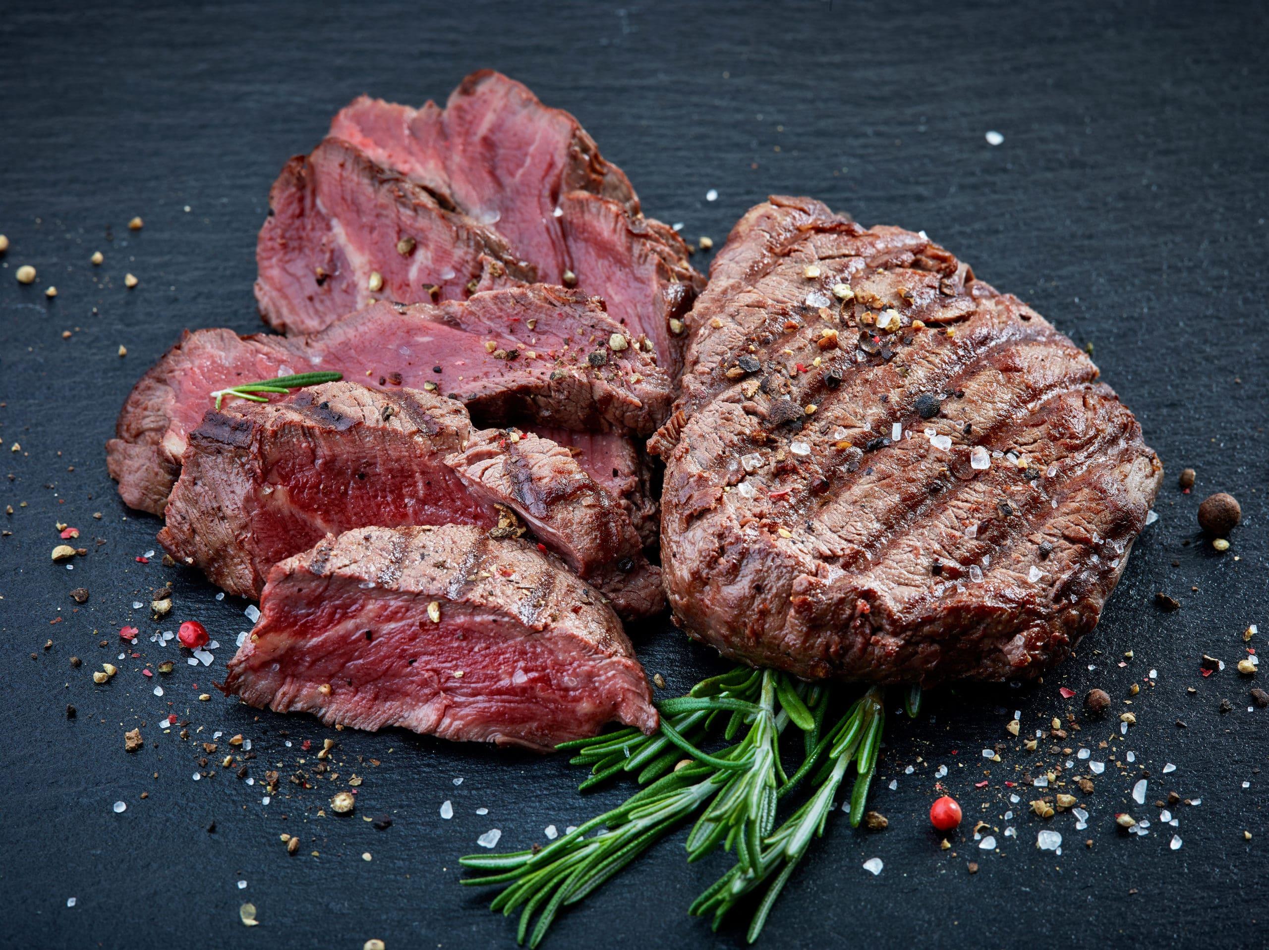 gegrilltes Rinderfiletsteakfleisch