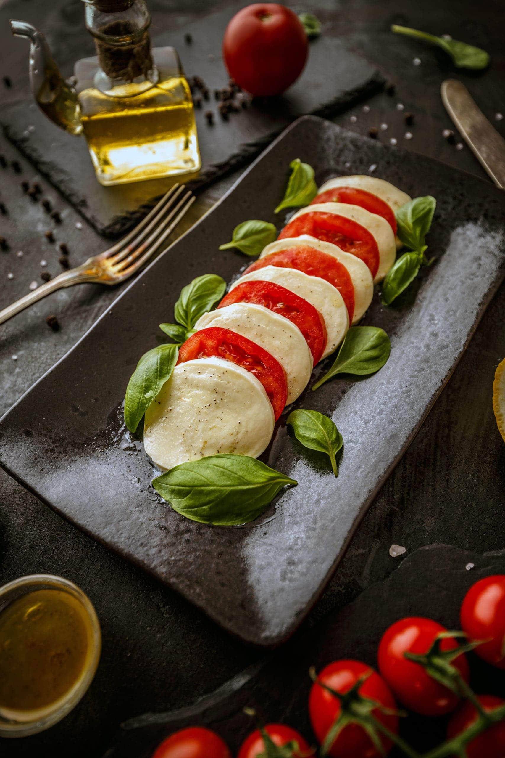 Gesundes italienisches Essen